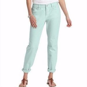 Ann Taylor Loft Boyfriend Button Fly Jeans